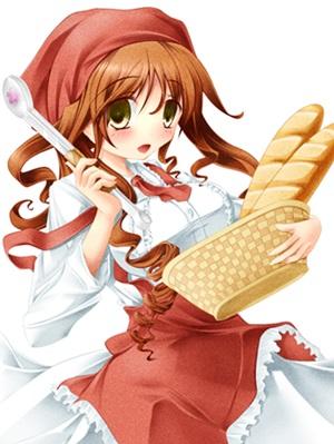 パン屋さんの女の子